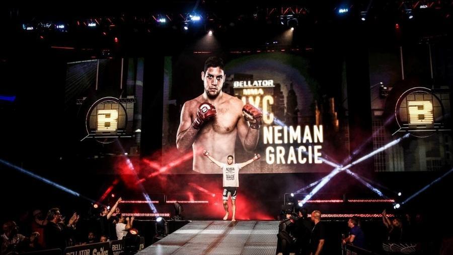 Neiman é a nova esperança da família Gracie no MMA - Bellator/Divulgação