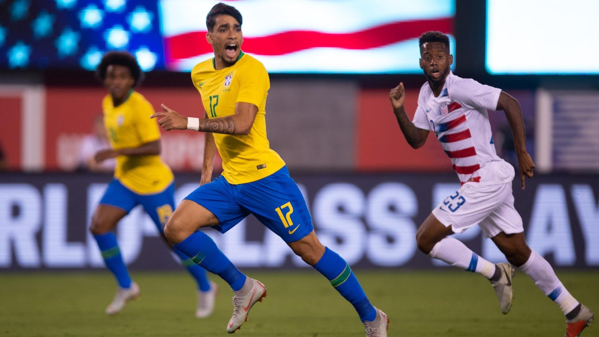 Paquetá, do Flamengo, foi uma das novidades de Tite na lista após a Copa do Mundo