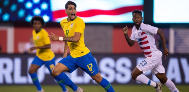 Paquetá serviu a seleção brasileira nos amistosos contra EUA e El Salvador