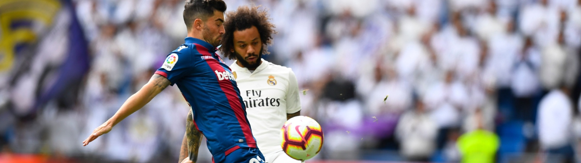 Marcelo retorna de lesão e é titular em Real Madrid x Levante