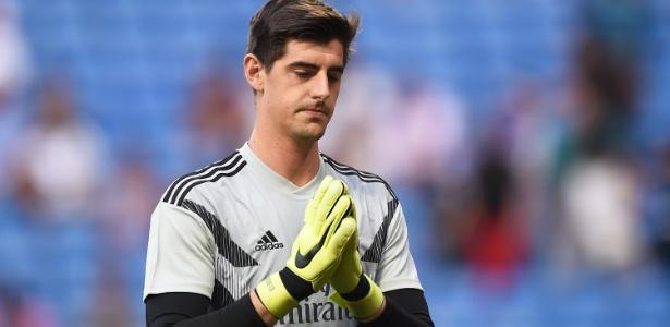 Courtois deve desfalcar o Real Madrid por até duas semanas