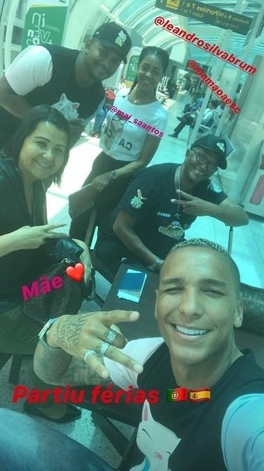 Atacante Deyverson, do Palmeiras, embarcou para a Europa em 5 de dezembro, três dias após o término do Brasileirão