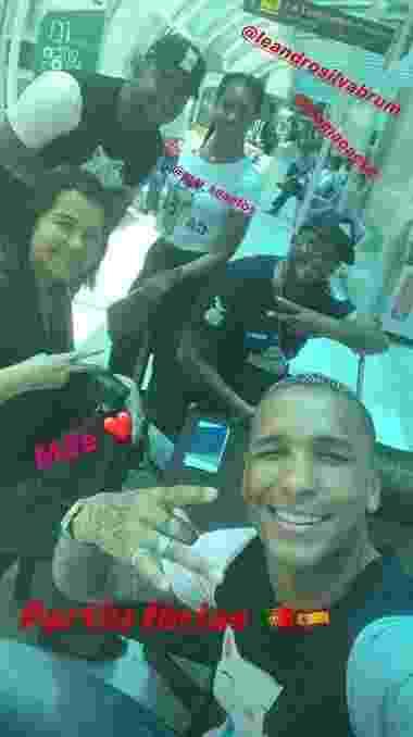 Atacante Deyverson, do Palmeiras, embarcou para a Europa em 5 de dezembro, três dias após o término do Brasileirão - Reprodução/Instagram