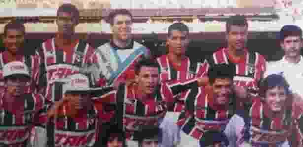 Time do São Paulo na década de 90 - Arquivo pessoal/Gilmar - Arquivo pessoal/Gilmar