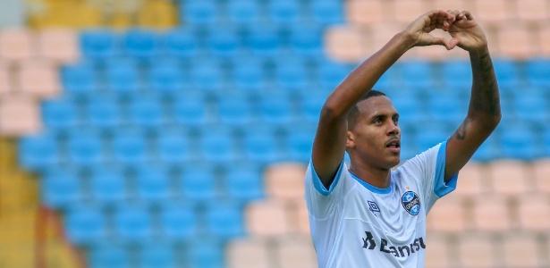 Da Silva voltou a marcar gol na Copinha. Centroavante já havia decidido na fase anterior - Guilherme Rodrigues/GR Press Divulgação Grêmio
