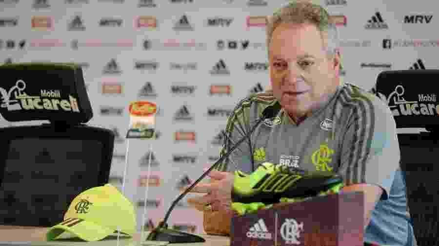 Segundo Bap, o técnico Abel Braga está garantido no comando do Flamengo - Alexandre Vidal/ Flamengo