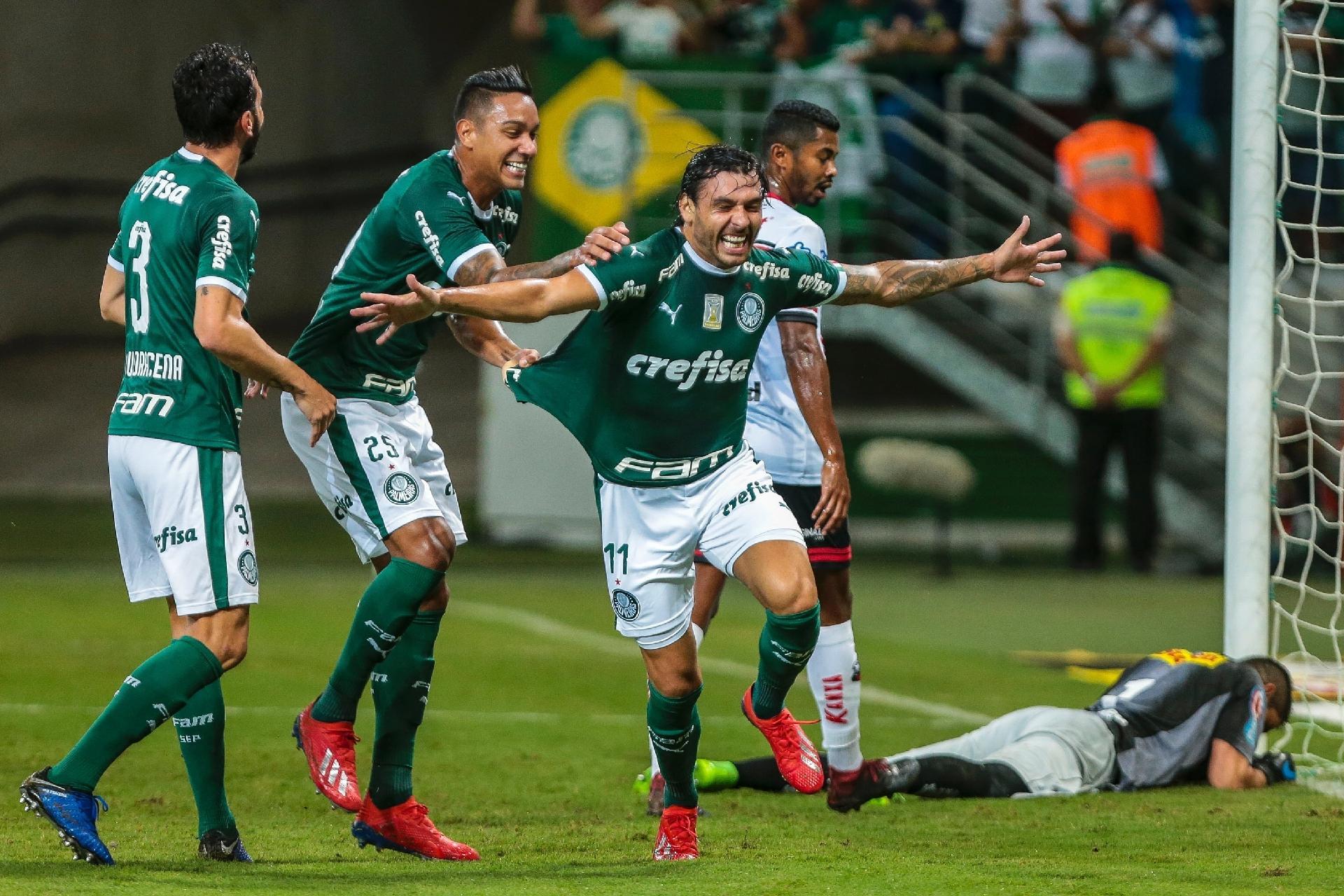 064640d7030bb Palmeiras vence Ituano com show de Ricardo Goulart e gol de Borja - 27 02  2019 - UOL Esporte