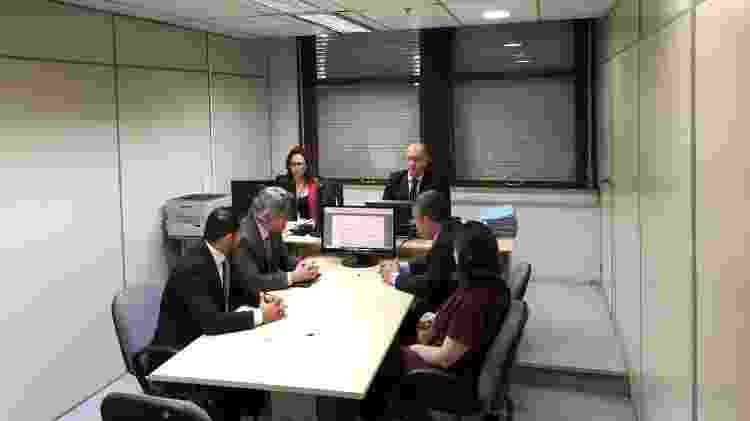 Representantes do Flamengo estiveram reunião com representantes do Ministério do Trabalho - Alexandre Araújo - Alexandre Araújo