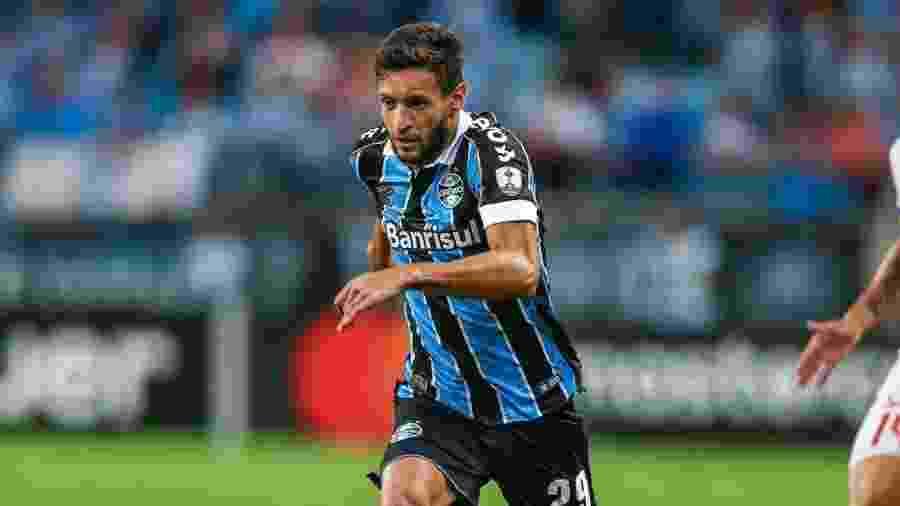 Juninho Capixaba, lateral do Grêmio, atuará no Bahia por empréstimo nesta temporada - Divulgação/Site oficial do Grêmio