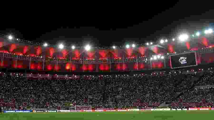 Torcida do Flamengo voltará ao Maracanã no próximo sábado para a estreia na temporada 2020 - Thiago Ribeiro/AGIF