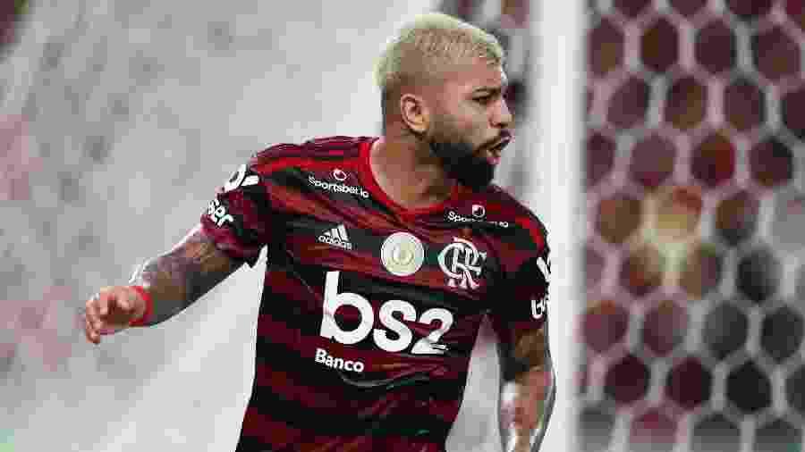 Gabigol está de volta ao time titular do Flamengo após cumprir suspensão automática contra Corinthians - REUTERS/Pilar Olivares