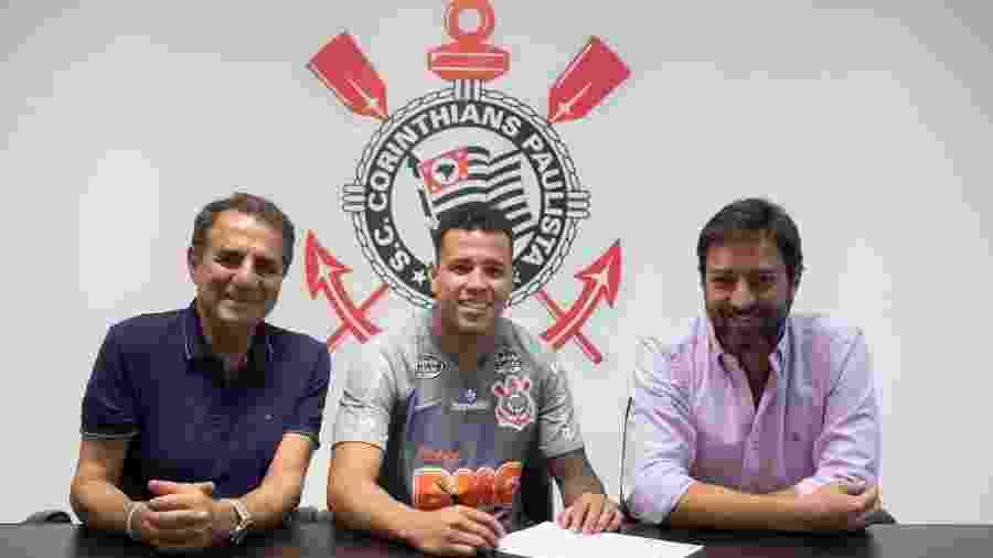 Sidcley assinou contrato de empréstimo com o Corinthians até o fim desta temporada - Daniel Augusto Jr./Agência Corinthians