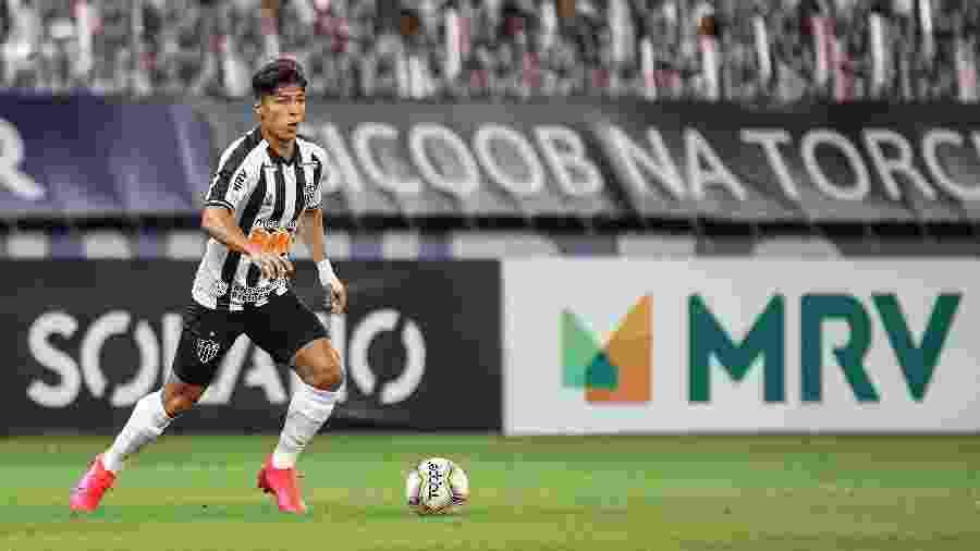 Alan Franco foi diagnosticado com Covid-19 e cumprirá isolamento social  - Pedro Souza/Atlético-MG