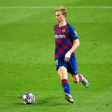 Frenkie de Jong é considerado intransferível pelo Barcelona - David Ramos/Getty Images