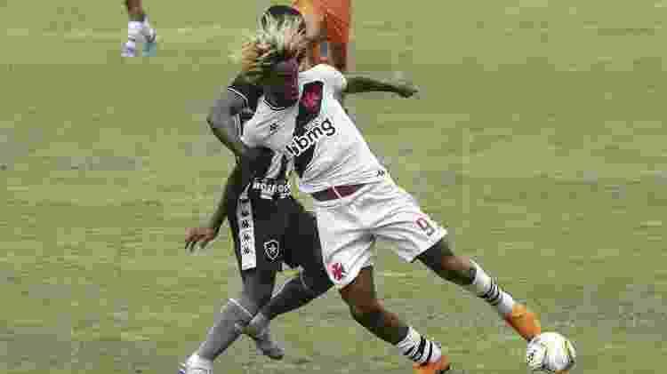 Atacante MT durante clássico entre Vasco e Botafogo pelo Carioca sub-20: calendário caótico na categoria - Dikran Júnior/Divulgação - Dikran Júnior/Divulgação