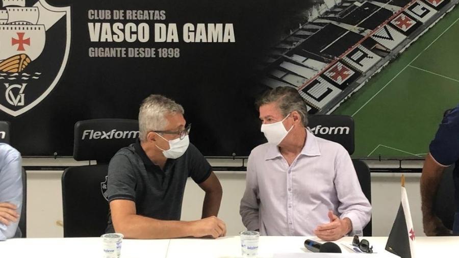 """Presidente Alexandre Campello estava prestes e """"passar o bastão"""" para Jorge Salgado no Vasco - Bruno Braz / UOL Esporte"""