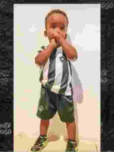 Enzo Gabriel, torcedor do Botafogo que recebeu ajuda de Honda - Reprodução - Reprodução