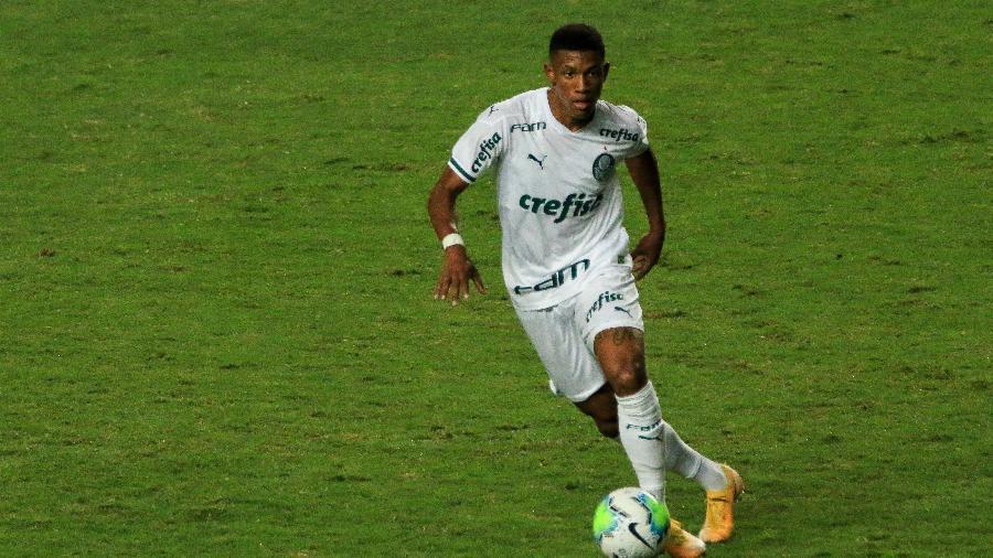 Danilo, do Palmeiras, em partida contra o América-MG pela Copa do Brasil - DUDU MACEDO/FOTOARENA/FOTOARENA/ESTADÃO CONTEÚDO