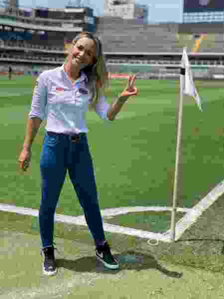 Bibiana Bolson, repórter da ESPN e setorista do Palmeiras - Divulgação - Divulgação
