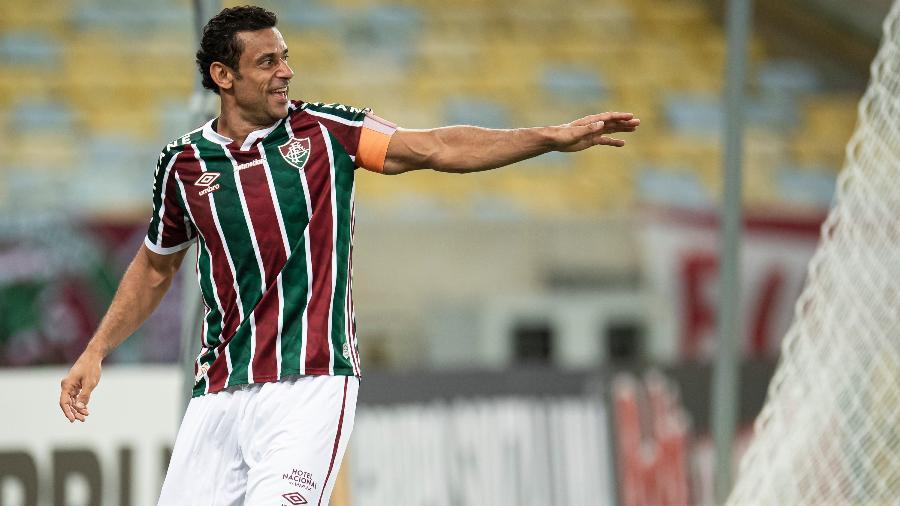 Fred é novidade do Fluminense e relação ao jogo de ida no Paraguai - Jorge Rodrigues/AGIF