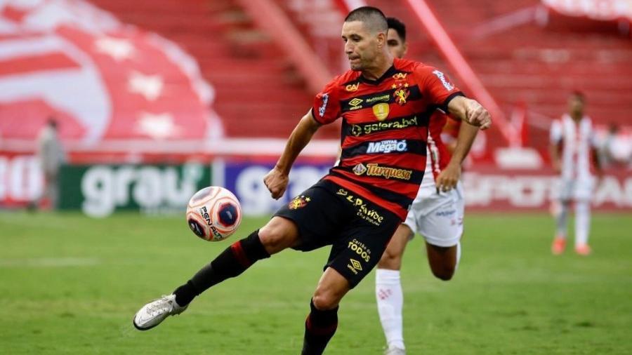 Thiago Neves durante lance pelo Sport na final do Campeonato Pernambucano - Sport/Twitter