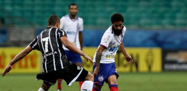 Ávine sofreu com lesões e jogou pouco pelo Bahia nos últimos anos