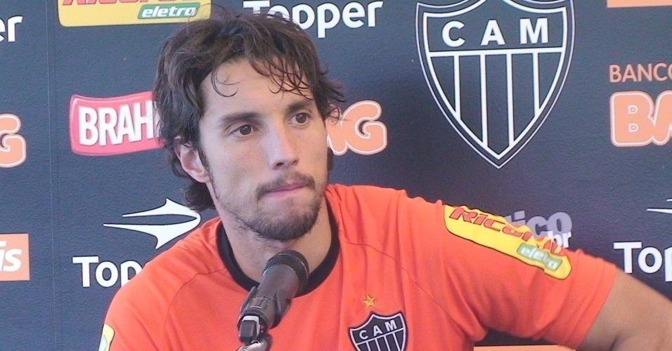 Carini, ex-goleiro do Atlético-MG