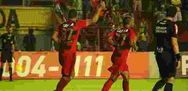 Diego Souza comemora golaço contra o Fluminense: 2 x 1 - Williams Aguiar/Sport Recife - Williams Aguiar/Sport Recife