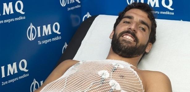 """Raúl Garcia teve """"leve alteração cardiográfica"""" durante exames de pré-temporada"""