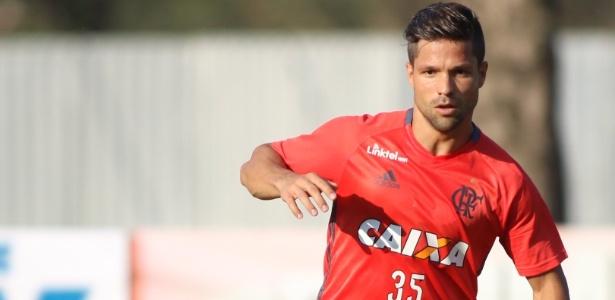 Diego entra na reta final de preparação para estrear pelo Flamengo contra o Grêmio