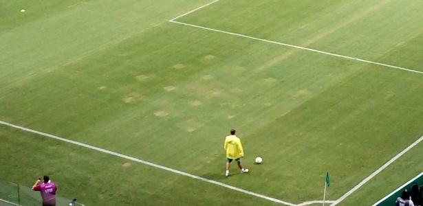 Condições do gramado geraram novo conflito entre Palmeiras e WTorre