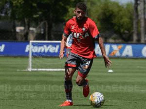 Gustavo Cascardo, lateral direito do Atlético-PR - Marco Oliveira/Site Oficial do Atlético-PR - Arquivo - Marco Oliveira/Site Oficial do Atlético-PR - Arquivo