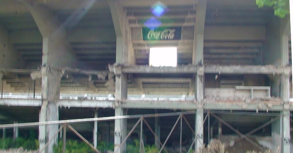 Velha propaganda do Estádio Olímpico