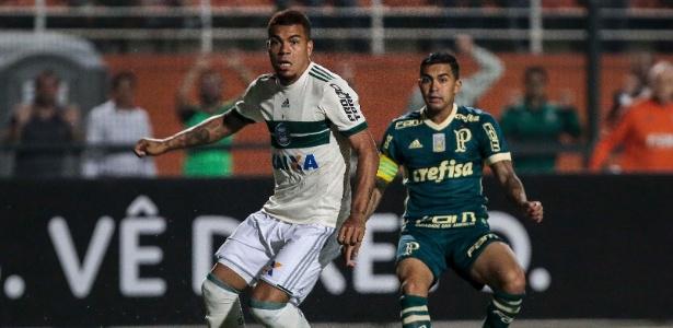 Palmeiras enfrentou o Coritiba no Pacaembu na última rodada