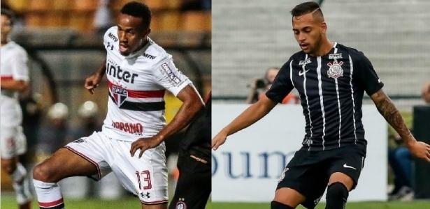 Revelados na base, Militão e Maycon são titulares de São Paulo e Corinthians