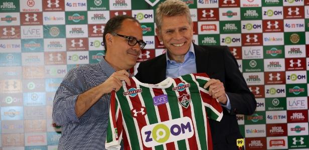 Paulo Autuori foi mais um a deixar a administração do Fluminense