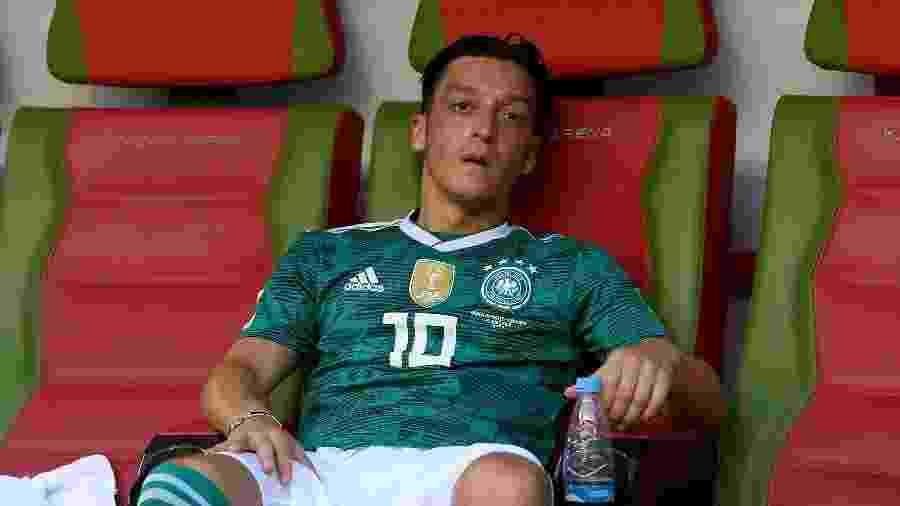 Ozil com a camisa da seleção alemã - Michael Regan/FIFA via Getty Images
