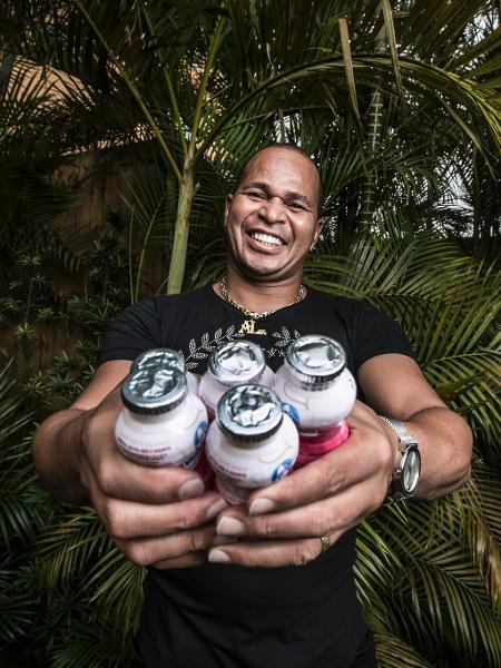 Retrato do ex jogador Aloísio Chulapa - Lucas Lima/UOL