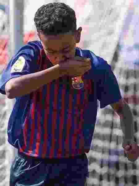 Barcelona venceu o Real Madrid na final do torneio sub-12 La Liga Promises - Reprodução/Instagram