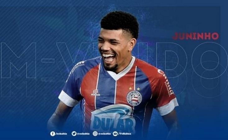 Bahia anuncia zagueiro Juninho como reforço