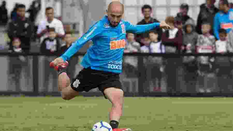Meia Régis atuou somente uma vez desde a parada para a disputa da Copa América - Daniel Augusto Jr/Ag. Corinthians