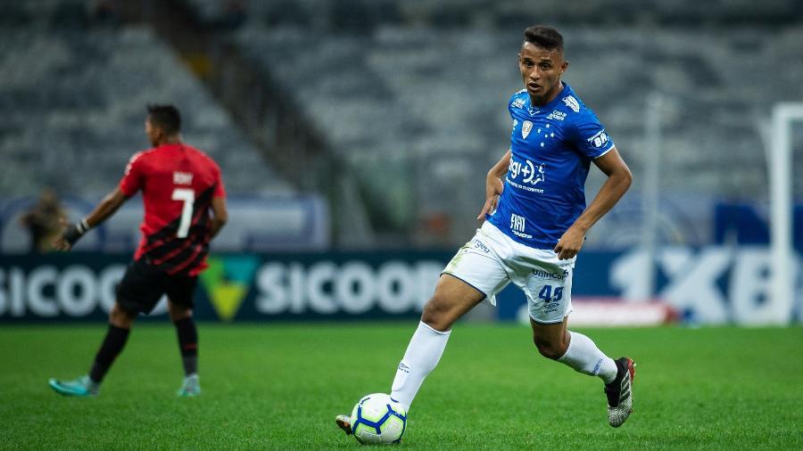 Atacante Welinton Torrão, do Cruzeiro, despertou interesse de clubes dos Estados Unidos e de Portugal - Bruno Haddad/Cruzeiro