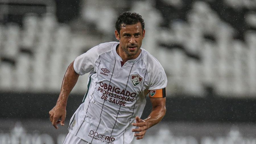 Fred mal reestreou e já virou desfalque no Fluminense - Lucas Mercon/Fluminense FC