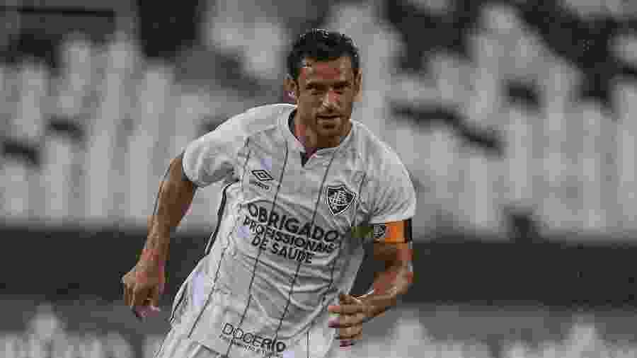 Fred é o capitão do Fluminense que enfrenta o Macaé em Bacaxá - Lucas Mercon/Fluminense FC