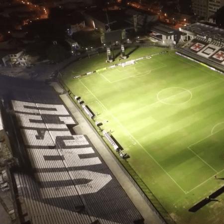 São Januário antes de Vasco x Madureira: Globo desistiu de transmitir no dia do jogo - Reprodução/YouTube