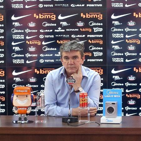 Andrés Sanchez, presidente do Corinthians, em 2020 - Rodrigo Coca/Agência Corinthians