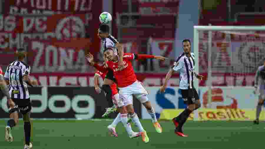No primeiro turno o Colorado venceu o Galo por 1 a 0, no Beira-Rio - Pedro Souza/Atlético-MG