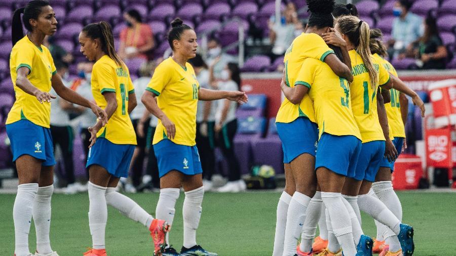 Seleção Brasileira Feminina bateu a Argentina por 4 a 1 - Sam Robles/CBF