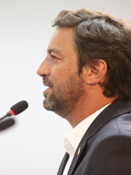 Duilio Monteiro Alves, presidente do Corinthians  - Rodrigo Coca/ Ag. Corinthians