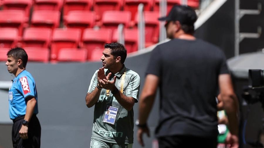 Abel Ferreira comandando Palmeiras na Supercopa do Brasil - Cesar Greco/Palmeiras
